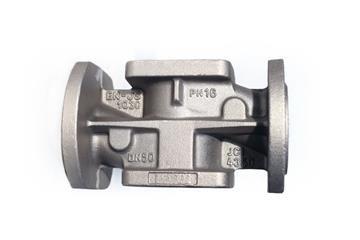 Four-way valve castings for using in low temperatures
